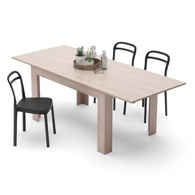 Extendable Dining Table, Easy, Pearled Elm