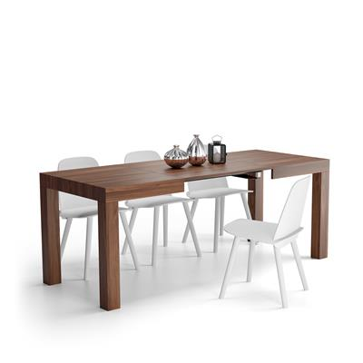 Extending Table, First, Color Walnut