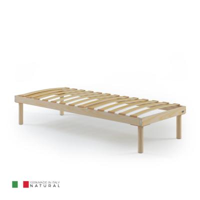 85x195 single slatted bed frame, Total height 26 cm