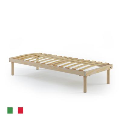85x195 single slatted bed frame, Total height 31 cm