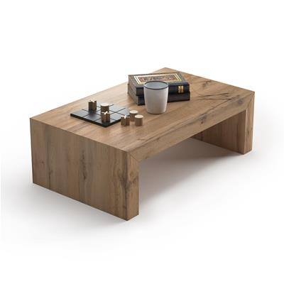 Table basse, First H30, Bois Rustique