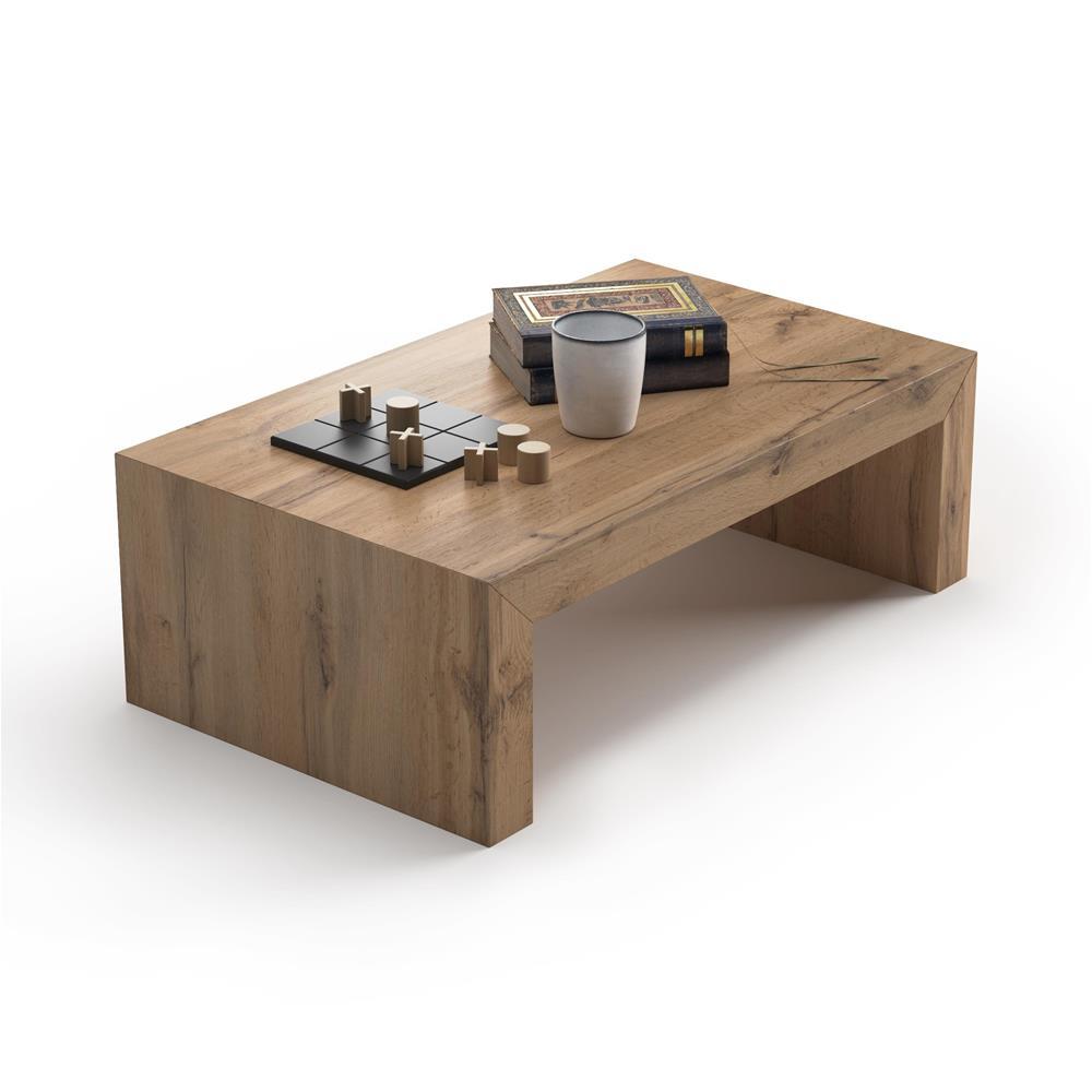 Tavolini Da Salotto Arredamento.Tavolino Da Salotto First H30 Rovere Rustico Mobili Fiver