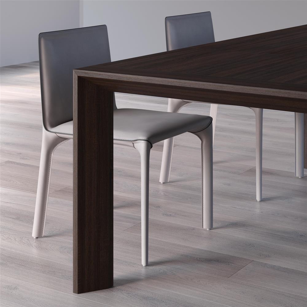Tavolo Bianco Moderno.Tavolo Moderno Allungabile Giuditta Bianco Frassino