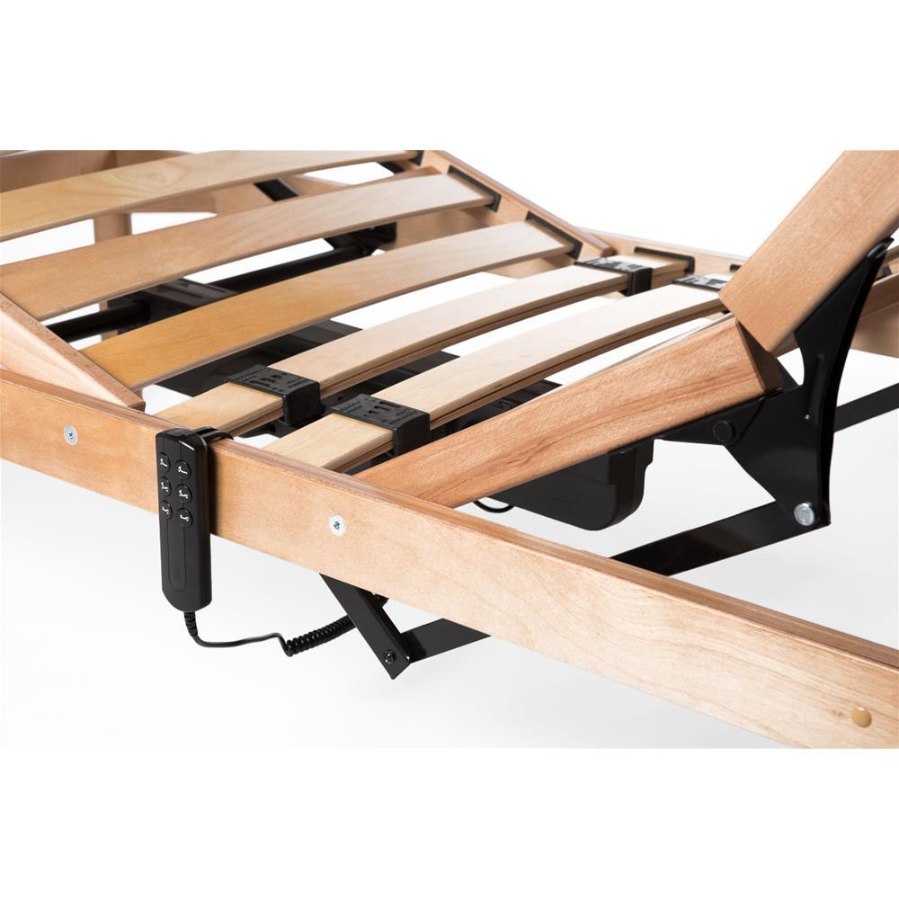 Franzosisches Bett Elektrischer Holz Lattenrost 120x200 26h Mobili