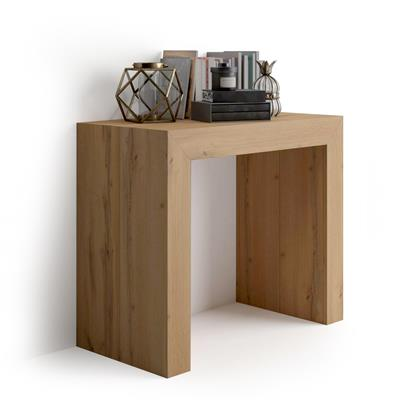 Extending Console Table Angelica, Rustic Wood