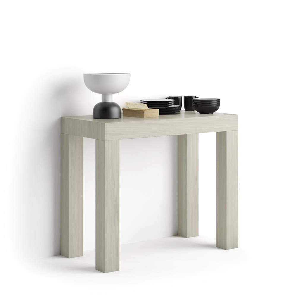 Table Console extensible First, Orme Perle