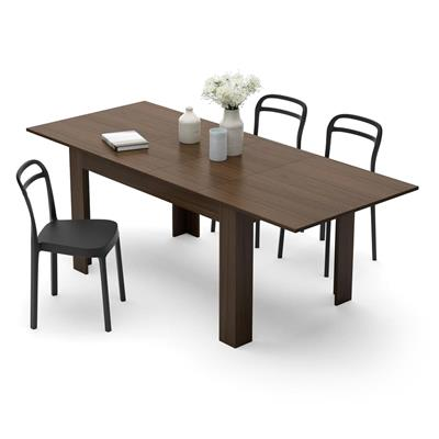 Extendable Dining Table, Easy, Canaletto Walnut