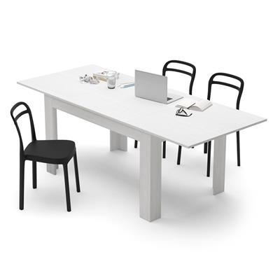 White Ash extendable dining table, Easy