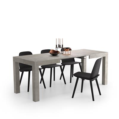 Extending Table, First, Color Grey Concrete