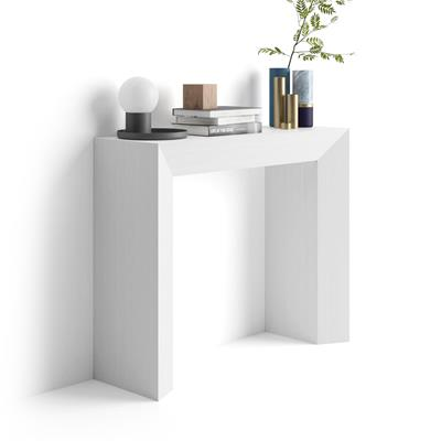 Console Table Giuditta, White Ash