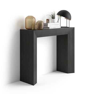 Console Table Giuditta, Black Ash