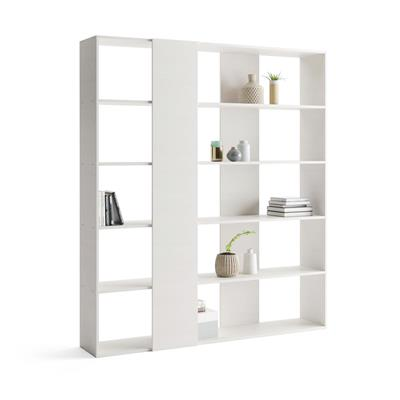 Bookcase, Rachele, Laminate-faced, White Ash