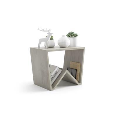 Modern Coffee Table, Emma, Grey Concrete