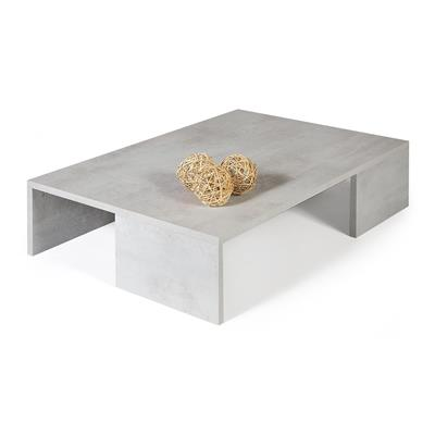 Coffee table, Rachele, Grey Concrete