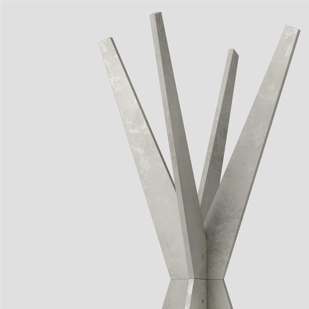 Appendiabiti da terra di design emma cemento mobili fiver for Appendiabiti da terra design