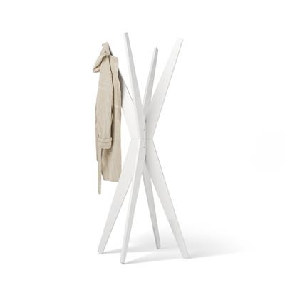 Free-standing Design Coat Rack, Emma White Ash