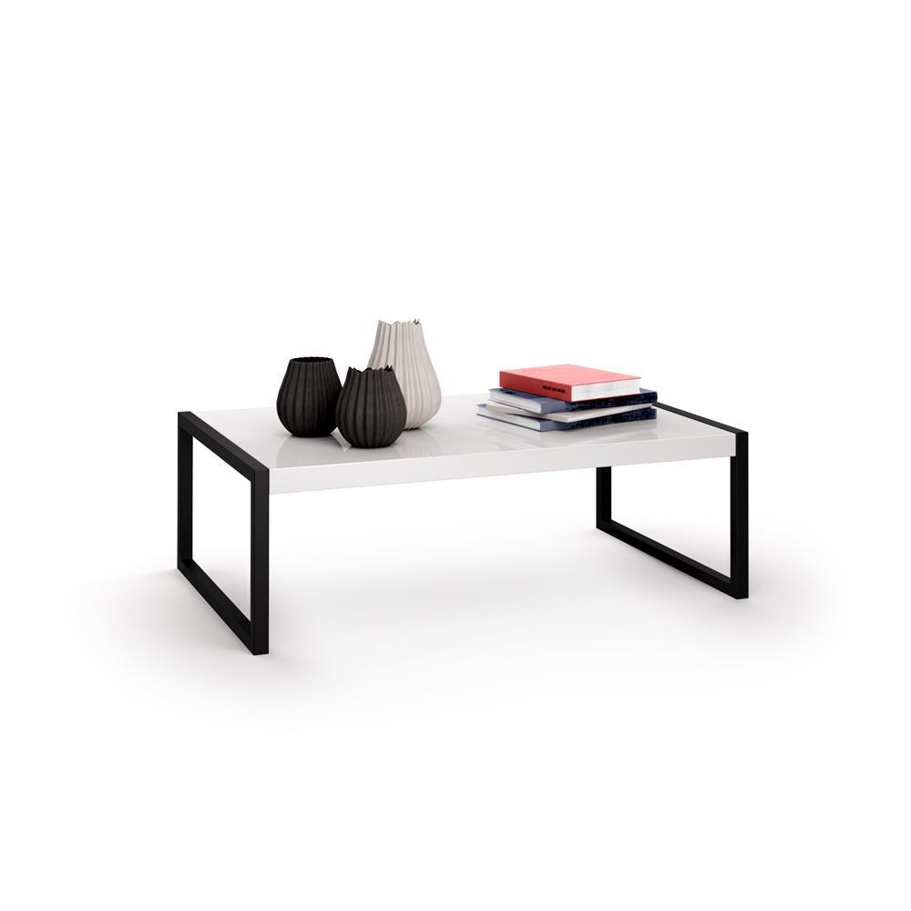 Tavolino da salotto, Luxury, Bianco Lucido