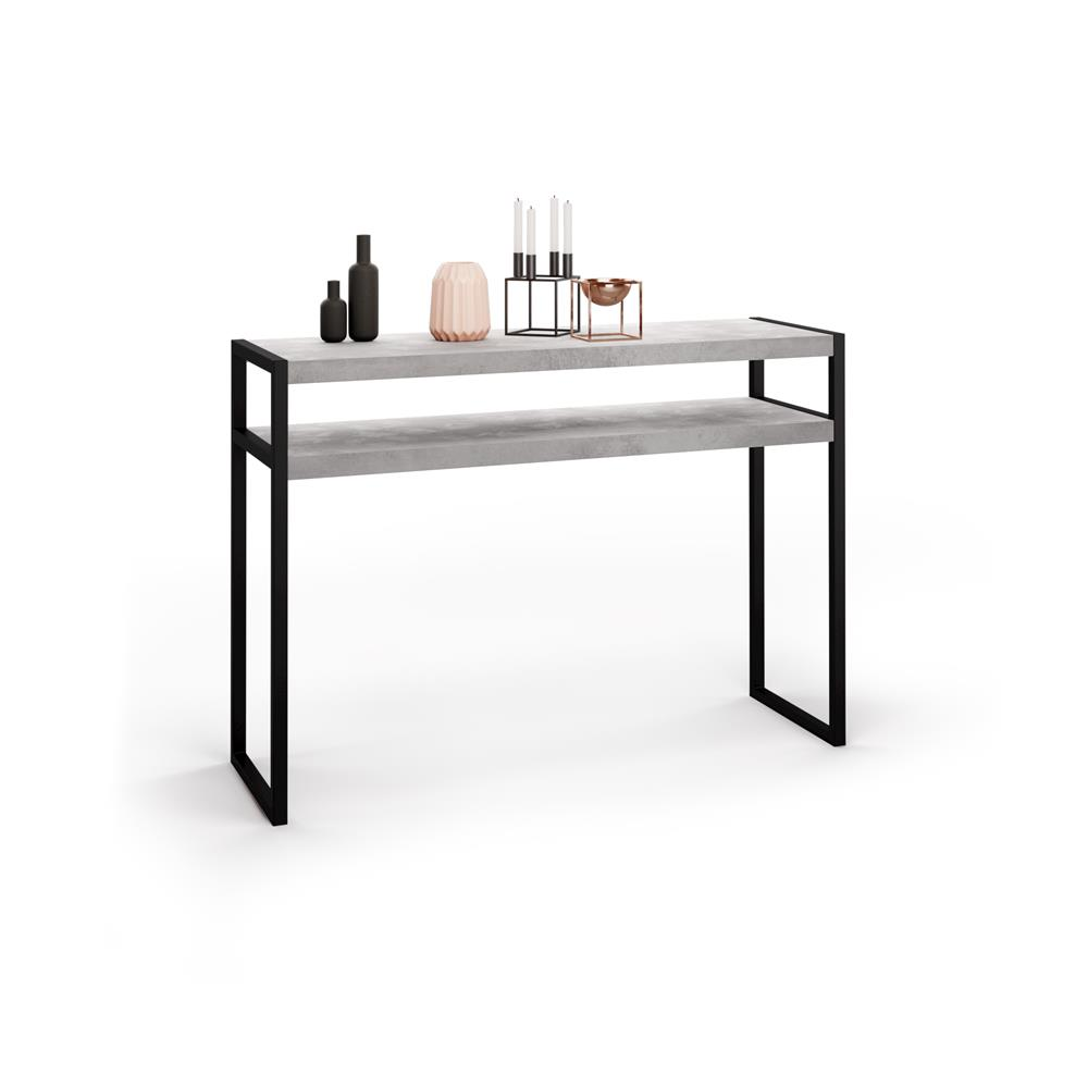 Console Table, Luxury, Grey Concrete