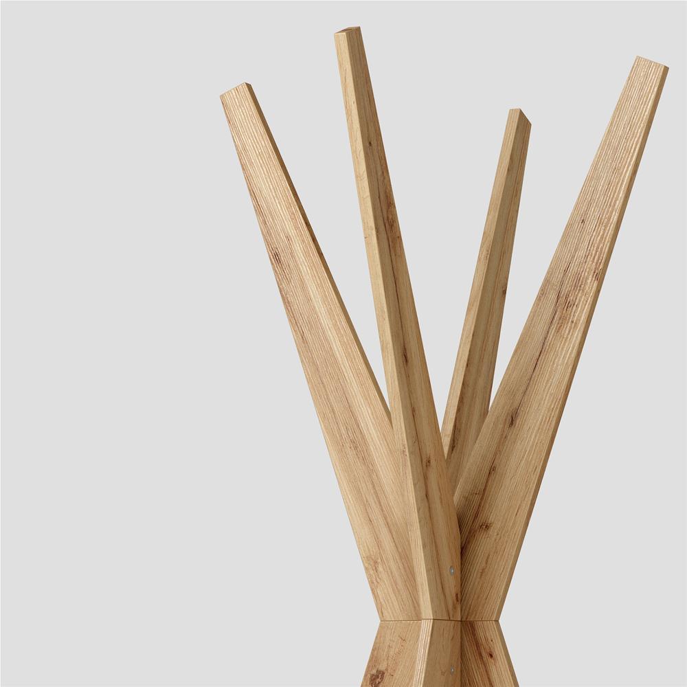 Porte Manteau En Bois Sur Pied porte-manteau sur pied design, emma, bois rustique