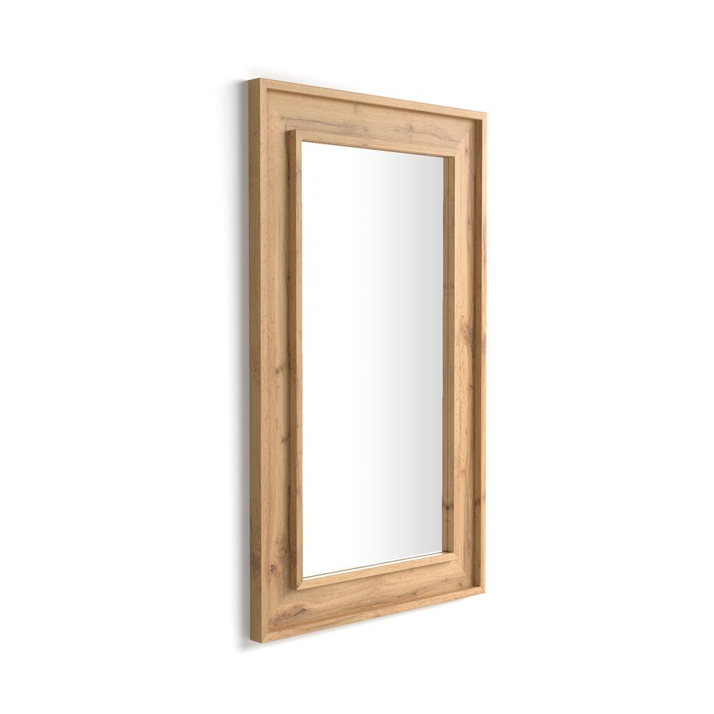 Wall-mounted mirror Angelica , 112x67, Rustic Wood