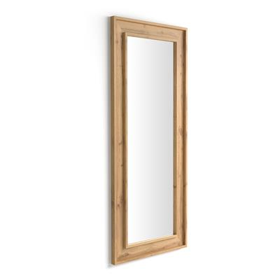 Wall-mounted/floor standing mirror Angelica , 160x67, Rustic Wood