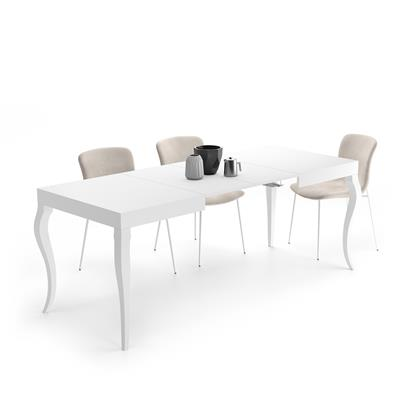 Extendable Table Classico, Opaque White