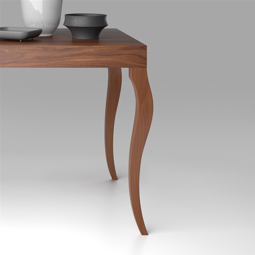 Tavolo Consolle Allungabile, modello Classico, Noce | Mobili Fiver