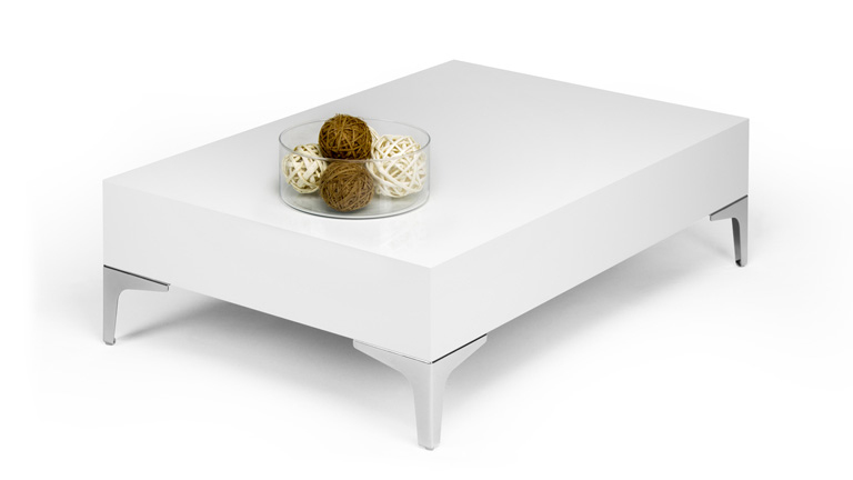 Evo Chrome coffee table