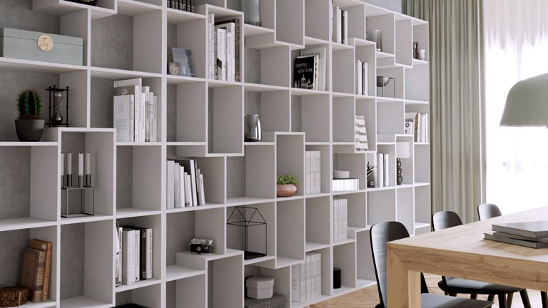 Iacopo design bookcase