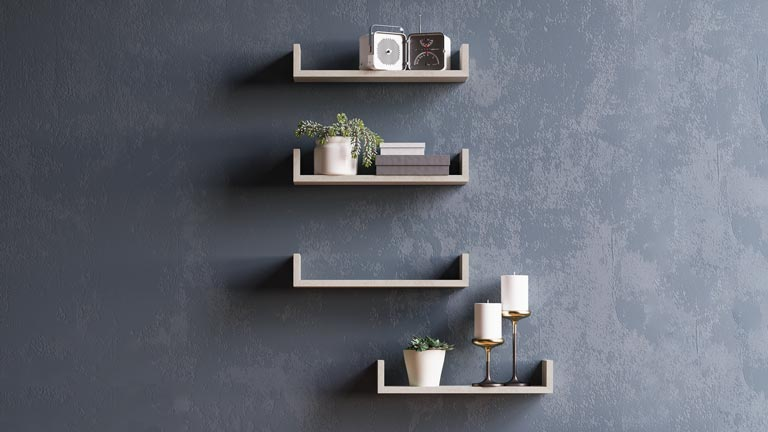 Iacopo shelves for kid's room