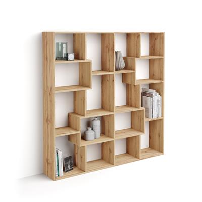 Bookcase S Iacopo (160,8 x 158,2 cm), Rustic Wood