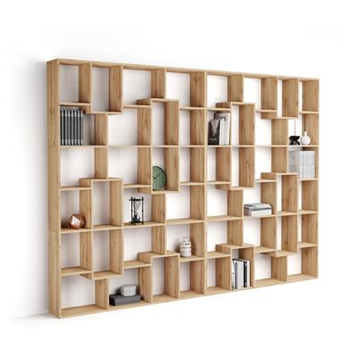 Bookcase XL Iacopo (236,4 x 321,6 cm), Rustic Wood