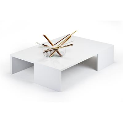 Coffee table, Rachele, Glossy White