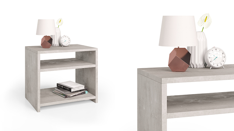 Martino bedside table
