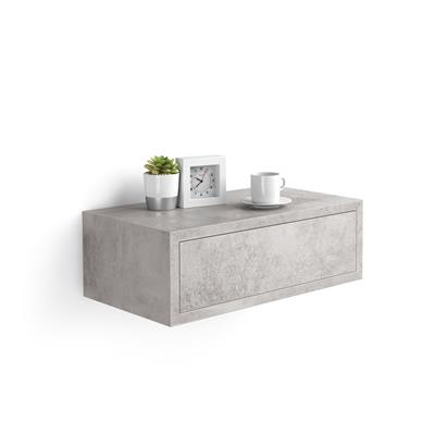 Riccardo Bedside table, Concrete