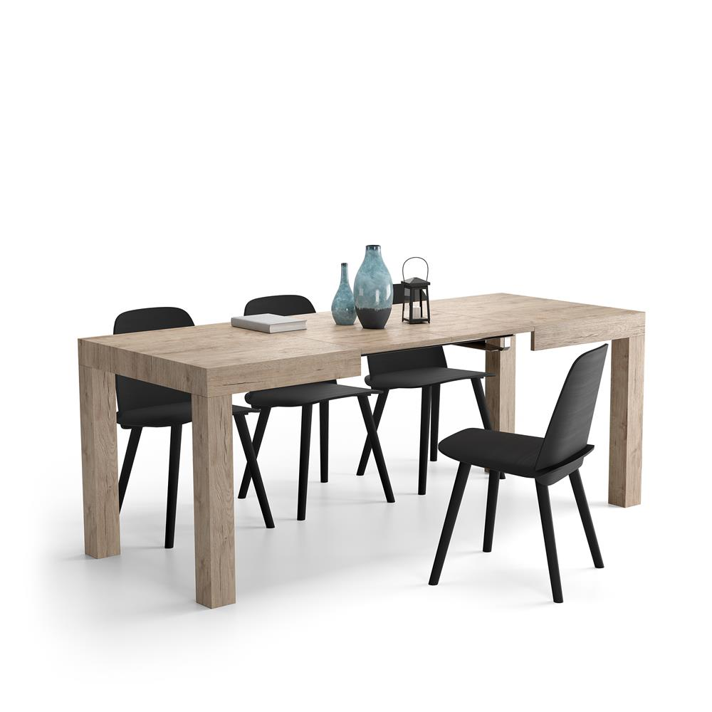 Table Extensible Cuisine First Chene Naturel Mobili Fiver