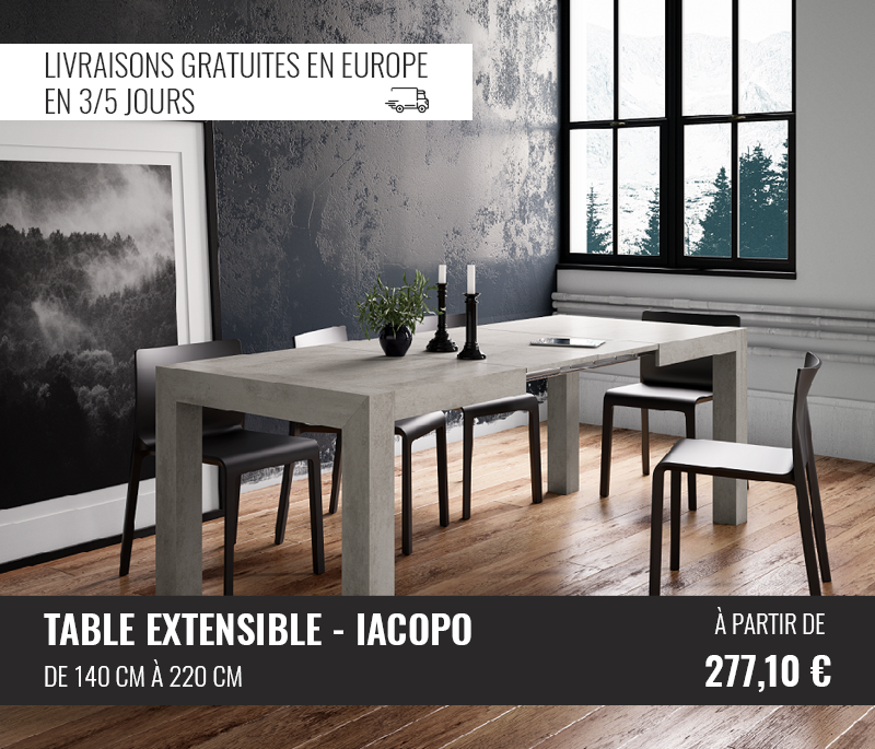 Tables Extensible - Mobili Fiver