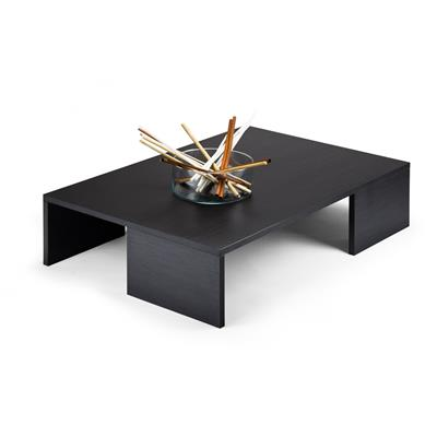 Coffee table, Rachele, Black Ash