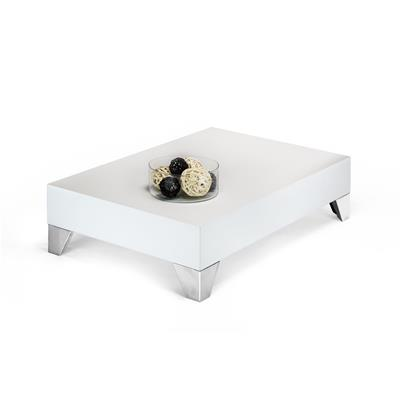Mesa de centro, modelo Evolution 90, color Fresno Blanco