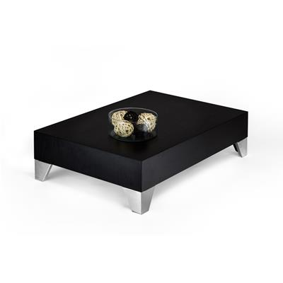 Mesa de centro, modelo Evolution 90, color Madera negra