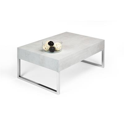 Mesa de centro, modelo Evolution XL, color cemento