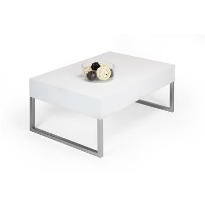 Coffee table, Evo XL, White Ash