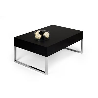 Coffee table, Evo XL, Black Ash