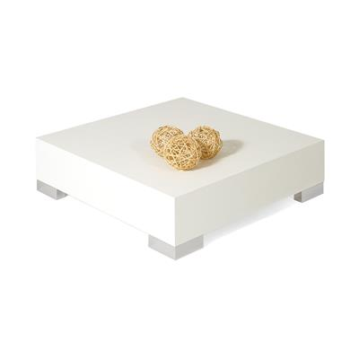 Small coffee table, iCube 60, White Ash