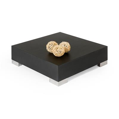 Coffee table, iCube 60, Black Ash