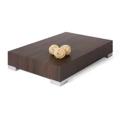 Coffee table, iCube 90, Dark Oak