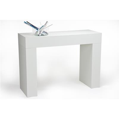 Console Table, Evolution, White Ash