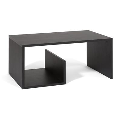 Coffee table, Snake, Black Ash