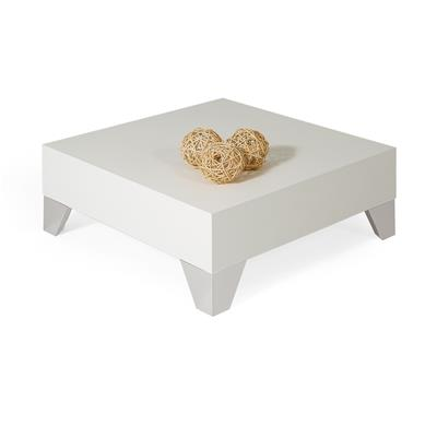 Square Coffee table, Evolution 60, White Ash