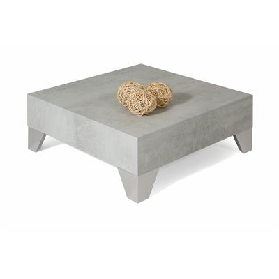 Square Coffee table, Evolution 60, Grey Concrete